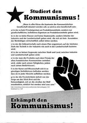 Plakat-Kommunismus